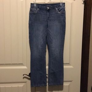 New Maurice's bootcut jeans size 12.